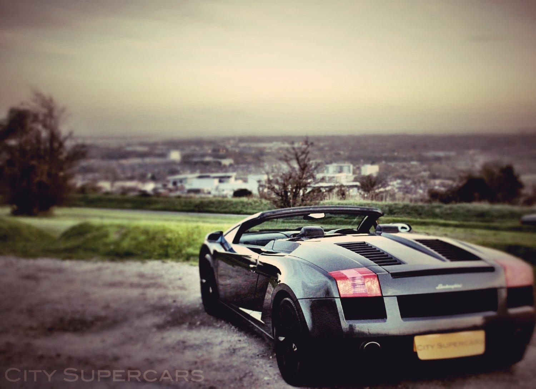 Lamborghini Gallardo Spyder E Gear City Supercars